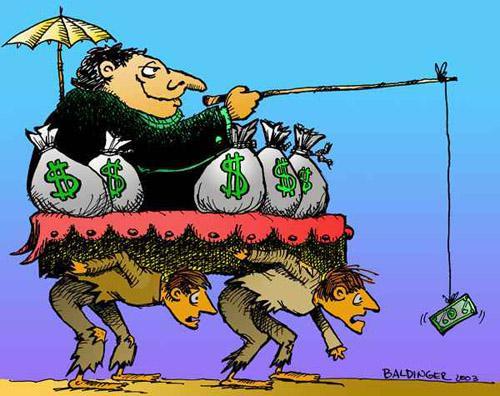 El salario frente al dólar caro