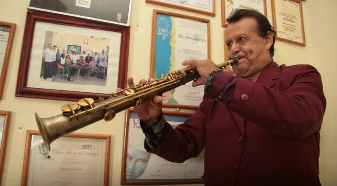 Eugenio Flores, dos destinos: el sax y Chicoché