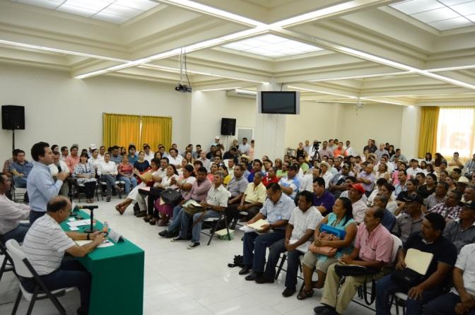 Capacitarán a delegados de Centro para atender mejor a  ciudadanos