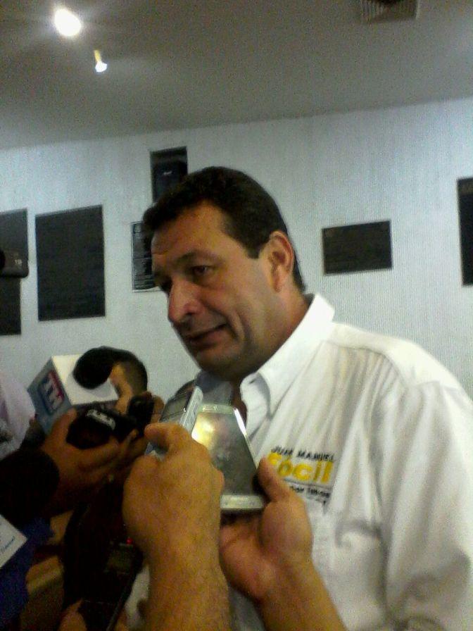 Venta de tortillas promovida por el PRD seguirá: Juan Manuel Fócil