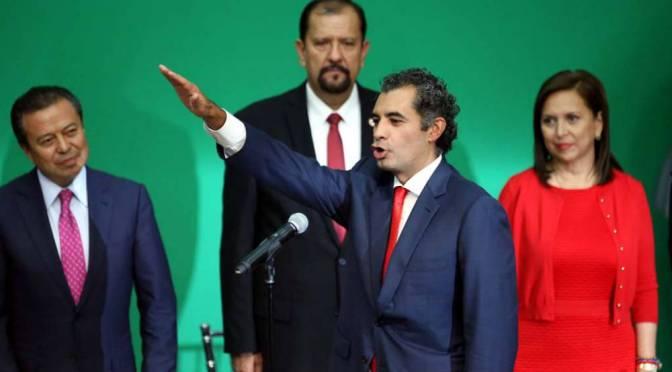 Ofrece Ochoa un PRI celestial