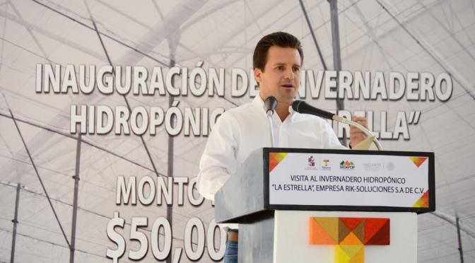 Certidumbre a inversiones en Centro
