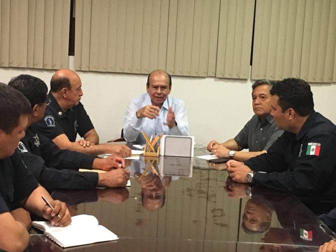 Respaldo a policías en su lucha contra inseguridad en Tabasco