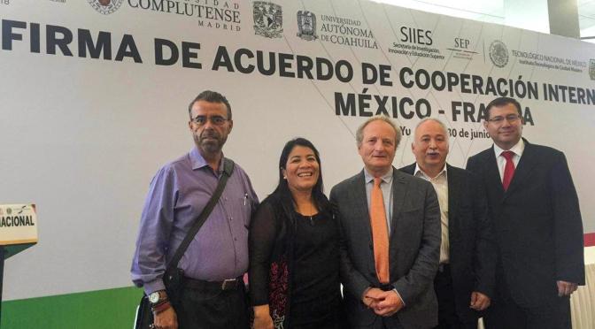 UJAT se suma a acuerdo internacional México-Francia para intercambio académico