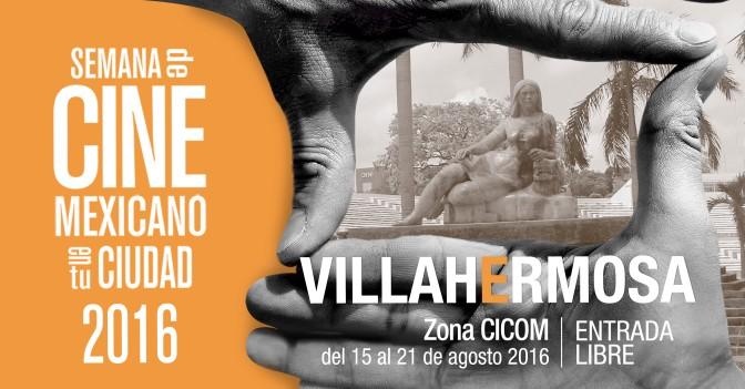 Semana de Cine Mexicano en Tabasco; entrada gratis