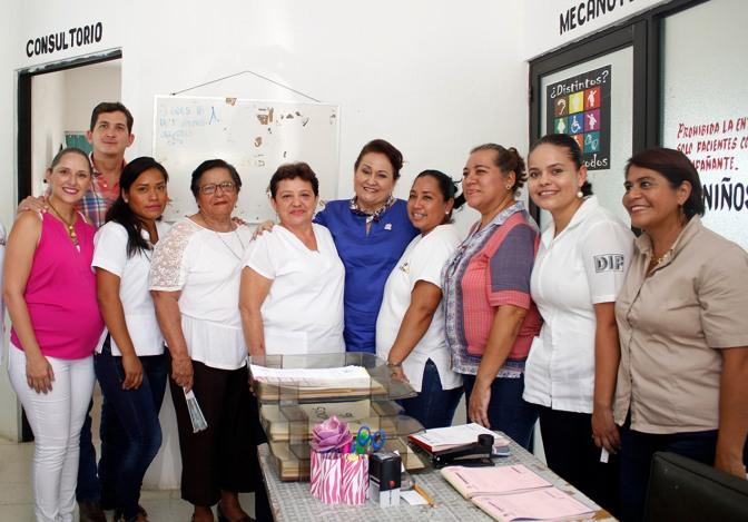 Dignifica DIF-Tabasco atención a grupos vulnerables en Huimanguillo y Balancán