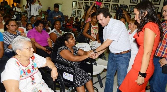 Igualdad de oportunidades para una vida digna en Centro: Gerardo Gaudiano