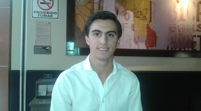 Mi elección, por méritos: Diego Naveda,  joven choco que dialogó con Peña Nieto