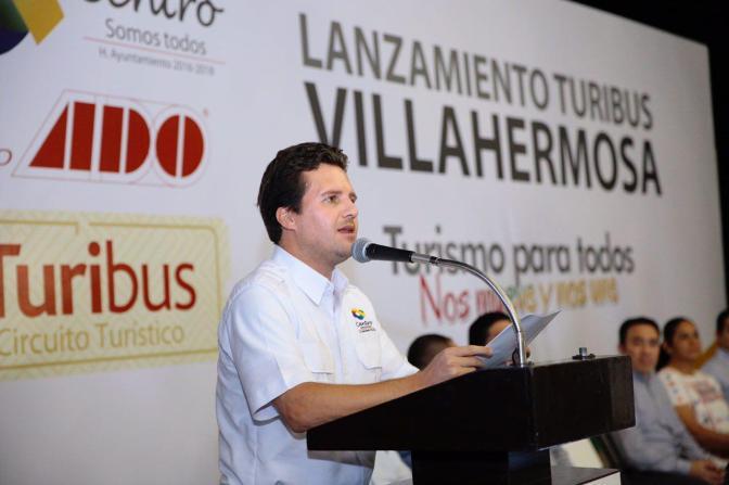 """Turibus"" recorre ya una Villahermosa renovada"