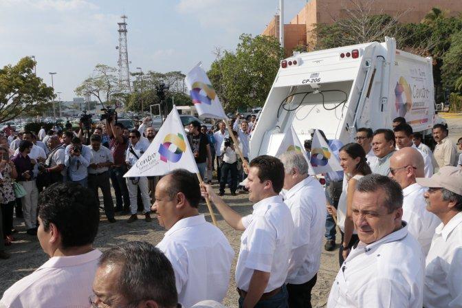 Con 15 camiones más fortalece Centro servicio de recolección de basura