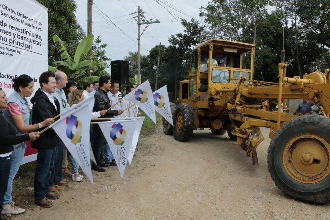 Calle digna para familias de Estanzuela, 1a sección