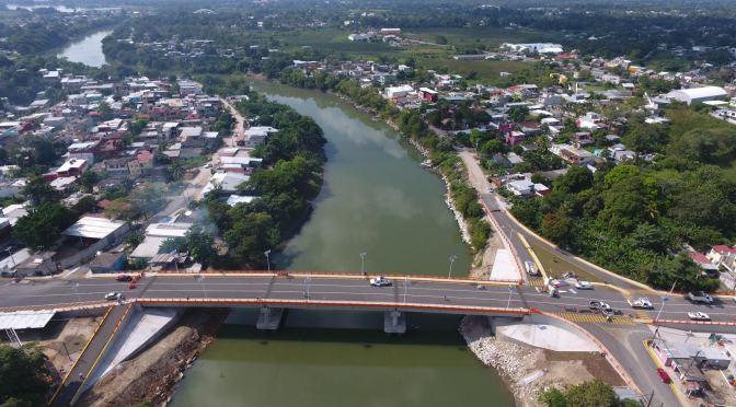 """Inauguran Puente Vehicular """"Tierra Colorada 1"""""""