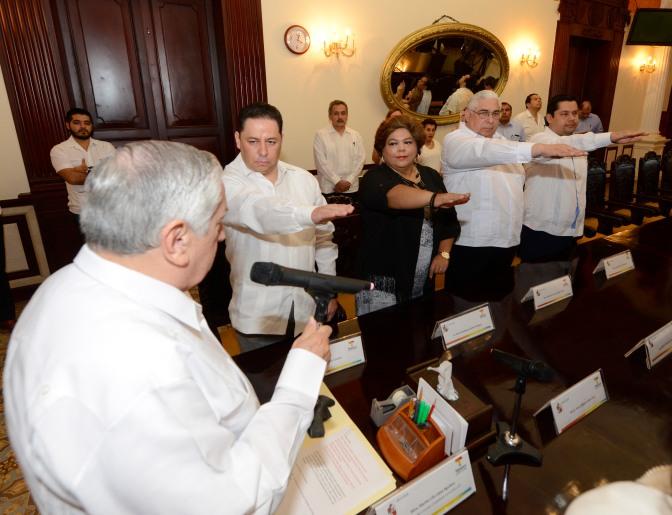 Fortalecen cambios al gobierno de Tabasco
