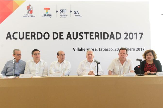 """""""Apretón de cinturón"""" en Tabasco se traducirá en empleos y obras sociales"""