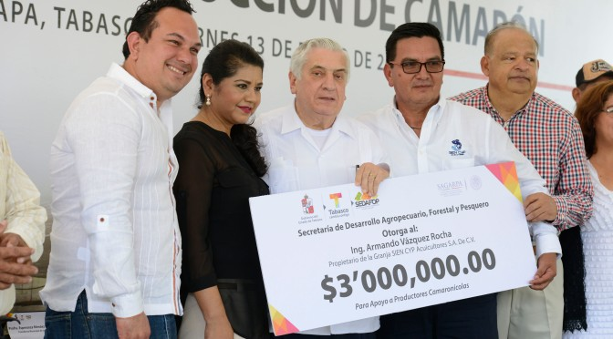 Impulso a negocios agroindustriales por casi 11 mdp en Macuspana y Jalapa