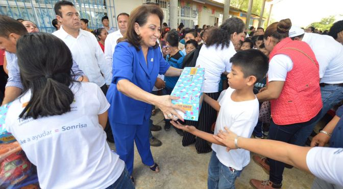 Lleva DIF-Tabasco a Los Reyes a niños y niñas de Nacajuca