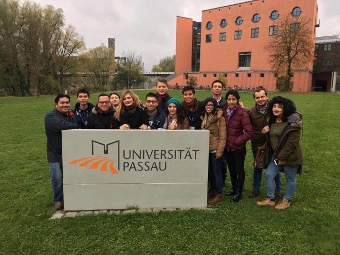Visitan estudiantes de UJAT universidades alemanas