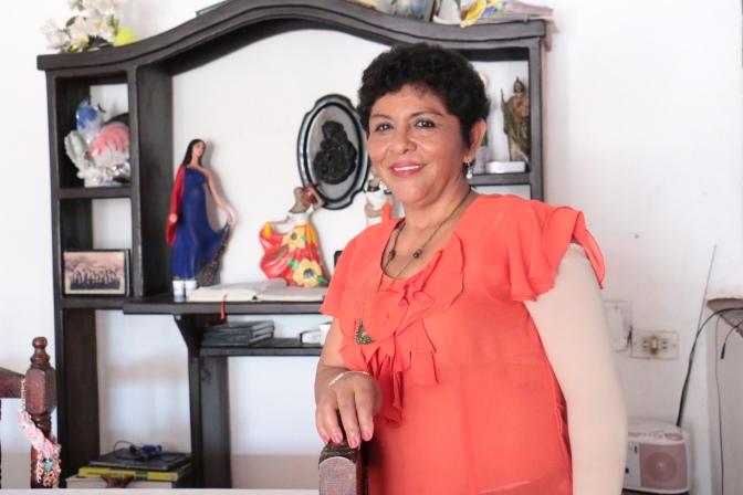 Doña Lolita derrotó al cáncer de mama