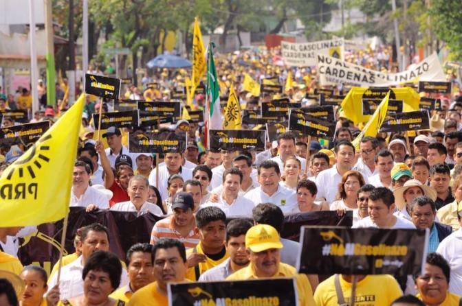 Crece ira social en Tabasco contra  Gasolinazo y el gobierno Peñista