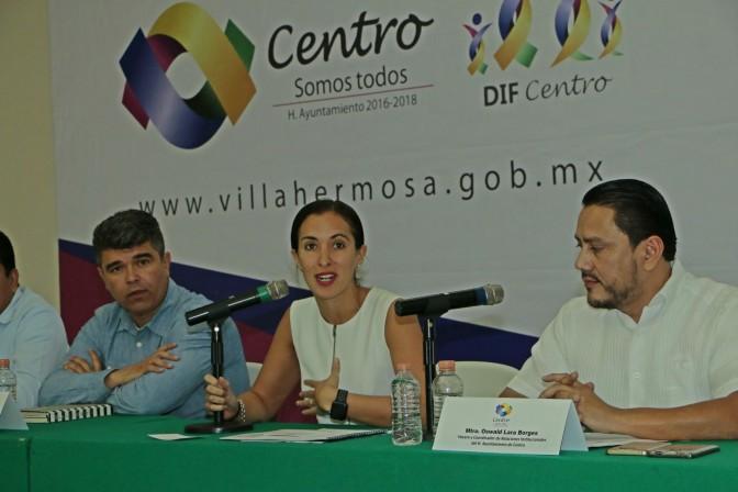 """Lanza DIF-Centro programa""""Mejora tus hábitos"""" para procurar salud de familias"""