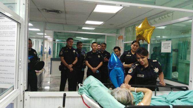 """Anima Gendarmería a pacientes con cáncer del Hospital """"Juan Graham"""""""