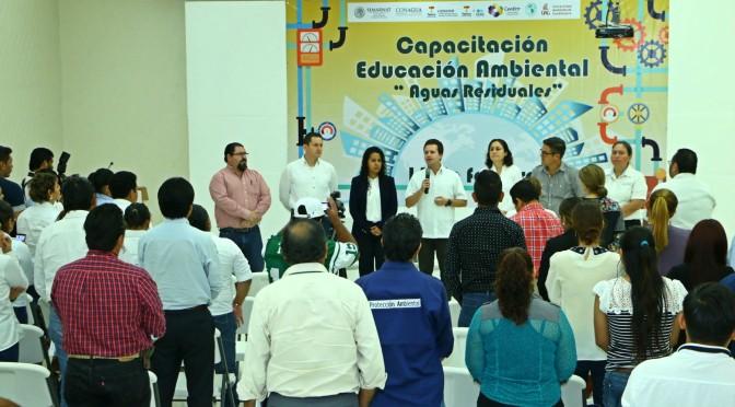 Concluye capacitación de educación ambiental en Centro