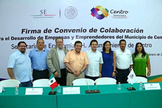 Juntos, por emprendedores  de Centro: Gaudiano