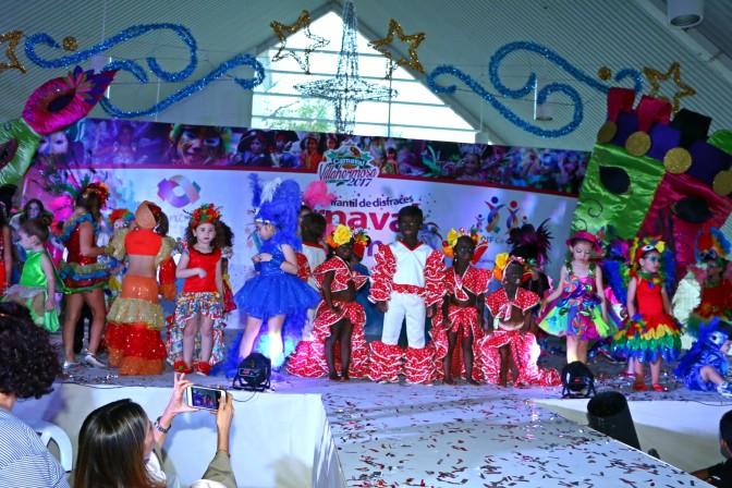 Alegra concurso infantil de disfraces  Carnaval Villahermosa 2017