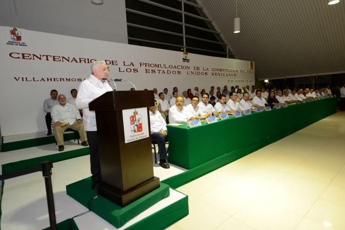 Acercar más la política a ciudadanos, convoca el gobernador Arturo Núñez