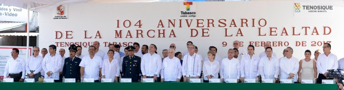 Leal Tabasco a instituciones de la República
