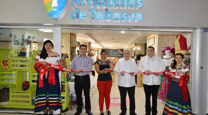 Apoyan proyección y comercio de productos artesanales tabasqueños