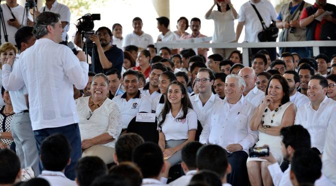 Arturo Nuñez, conprometido con educación de calidad: Aurelio Nuño