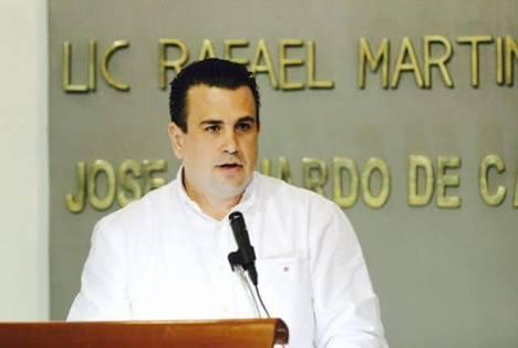 No a imposición de dirigente del PRI-Tabasco: César Rojas