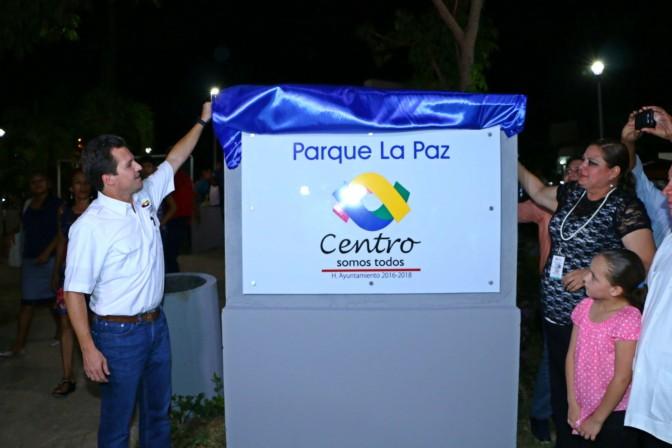 ¡Renovado El Parque La Paz!