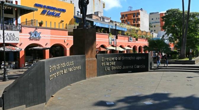 Inicia gobierno de Centro remodelación del Parque Juárez