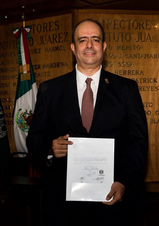 Eligen a Fernando Rabelo como  director de DACSyH de la UJAT