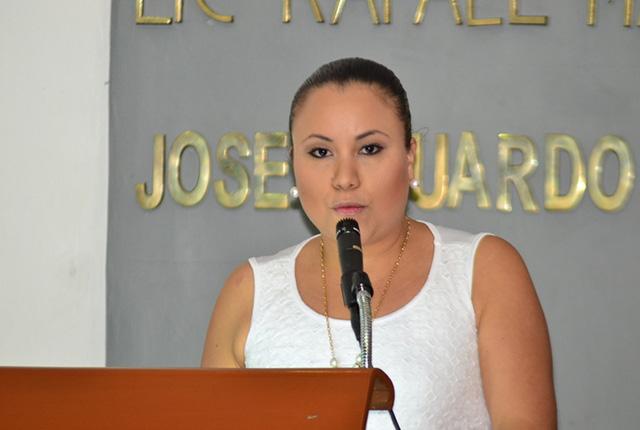 Mi voto sobre préstamo para seguridad será por los tabasqueños: Solange Soler