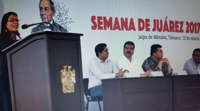 Arranca en UJAT Semana de Juárez 2017