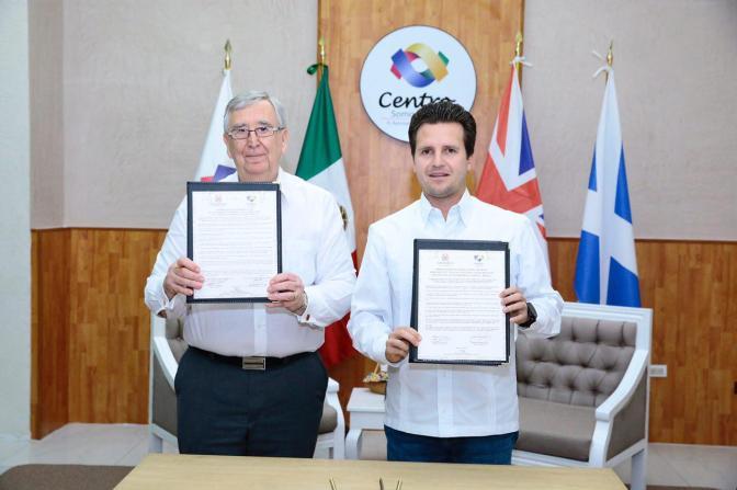 Villahermosa y Aberdeen, Escocia, en alianza para mejorar sus economías