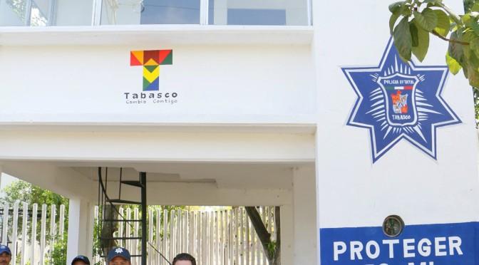 Casetas policíacas rehabilitadas por Centro ayudan a dar más seguridad