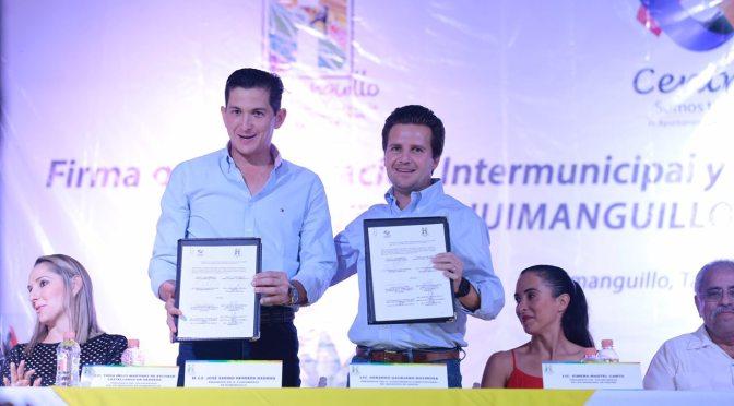 Alianza entre Centro y Huimanguillo para beneficio mutuo de la gente