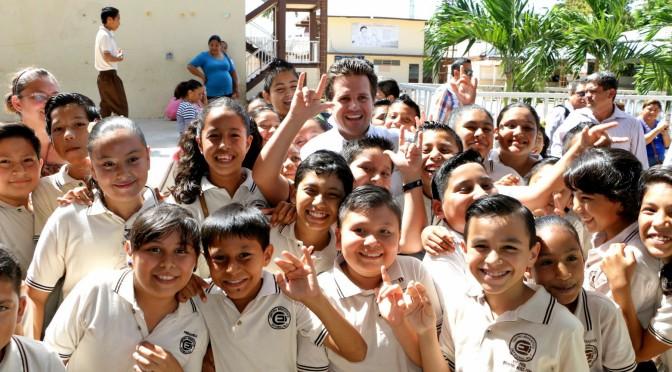 """Dignificará Centro primaria """"Diógenes Reyes"""" para beneficiar a estudiantes y maestros"""