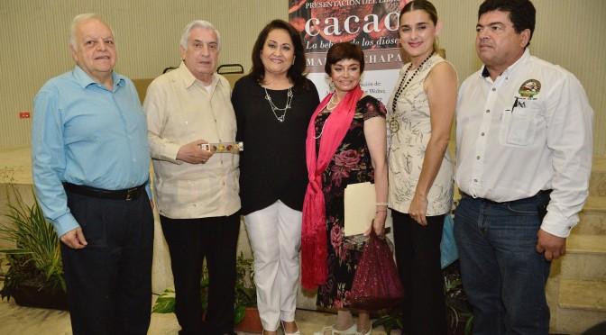 """""""Cacao, la bebida de los dioses"""", libro de Martha Chapa para honrar a Tabasco"""