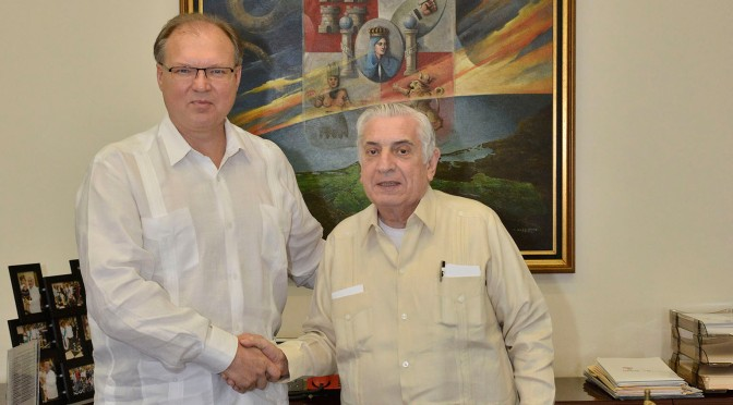 Ucrania interesado en invertir en Tabasco