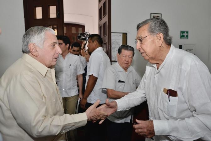 Tabasco, presente en obra de Cuauhtémoc Cárdenas