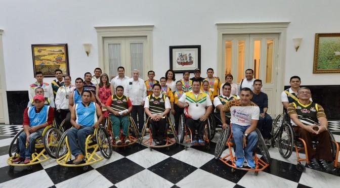 Atletas paralímpicos, ejemplos de vida y superación: Arturo Núñez