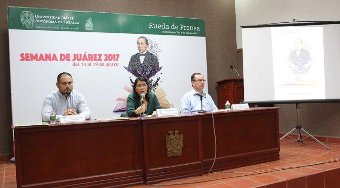 La fiesta universitaria de la Semana de Juárez, del 13 al 19 de marzo en UJAT