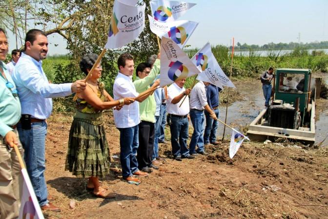 Trabajando con ciudadanos y delegados se recuperan espacios públicos: Gaudiano