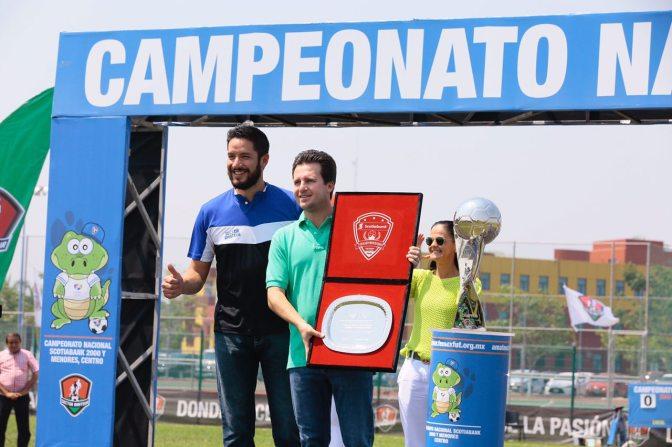 Centro se consolida como promotor del deporte con campeonato nacional de fut