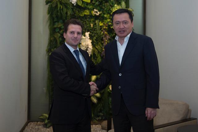 Refuerza Gaudiano con Secretario de Gobernación gestión en seguridad para Centro